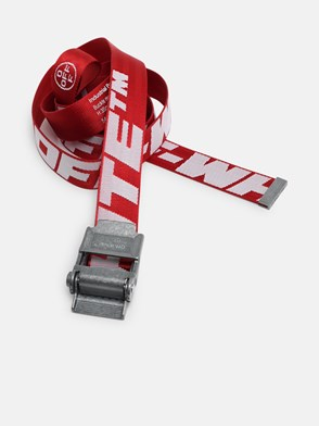 OFF WHITE c/o VIRGIL ABLOH - RED INDUSTRIAL 2.0 BELT