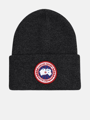 CANADA GOOSE - GREY ARTIC LADIES BEANIE
