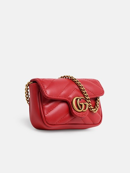 ce05ddb3200 RED GG MARMONT SMALL CROSSBODY BAG