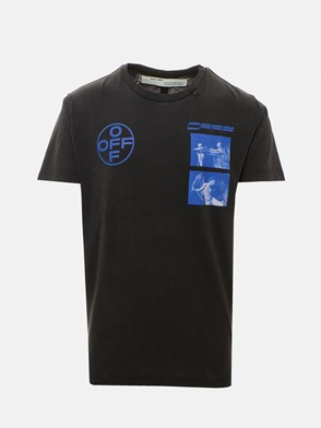 OFF WHITE c/o VIRGIL ABLOH - BLACK T-SHIRT