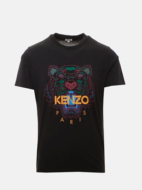 KENZO - T-SHIRT TIGRE NERA