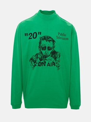 OFF WHITE c/o VIRGIL ABLOH - GREEN ARTIST MIRKO SWEATER