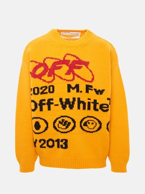 OFF WHITE c/o VIRGIL ABLOH - YELLOW Y013 INDUSTRIAL SWEATER