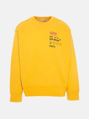 OFF WHITE c/o VIRGIL ABLOH - YELLOW Y013 INDUSTRIAL SWEATSHIRT