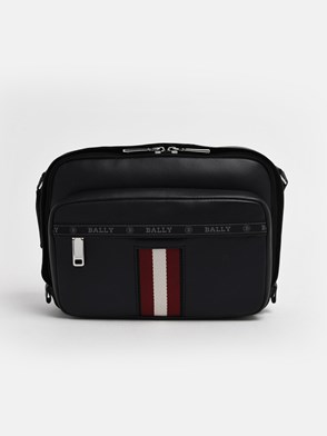 BALLY - BORSA HOBS CROSSBODY WEB NERA