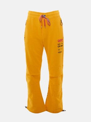 OFF WHITE c/o VIRGIL ABLOH - PANTALONE INDUSTRIAL Y013 GIALLO