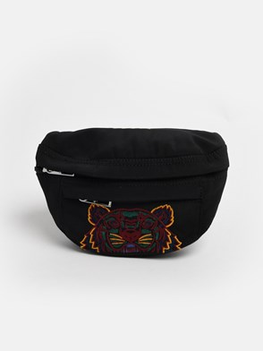 KENZO - BLACK TIGER FANNY PACK