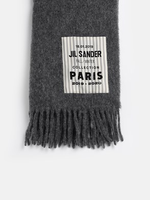 JIL SANDER - GREY SCARF