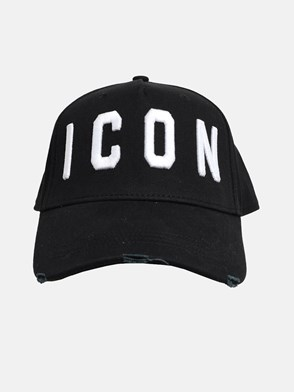 DSQUARED2 - BLACK ICON HAT