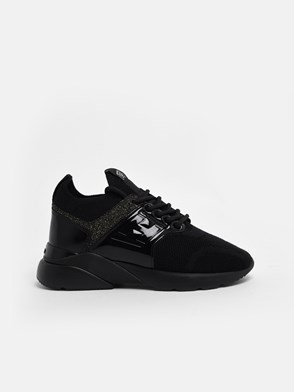 HOGAN - BLACK ACTIVE ONE SNEAKERS