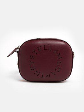 STELLA McCARTNEY - BURGUNDY FANNY PACK