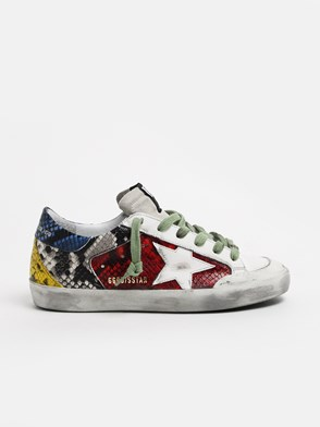 GOLDEN GOOSE DELUXE BRAND - MULTICOLOR SUPERSTAR SNEAKERS
