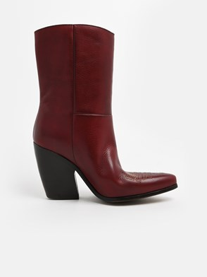 GOLDEN GOOSE DELUXE BRAND - BURGUNDY CANDY BOOTS