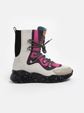 BALLY - MULTICOLOR BIASA ANKLE BOOTS