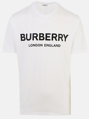 BURBERRY - WHITE MURS T-SHIRT