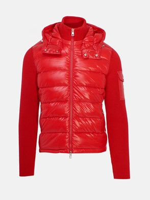 MONCLER - RED DOWN JACKET