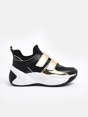 MICHAEL MICHAEL KORS - BLACK AND SCUBA SNEAKERS