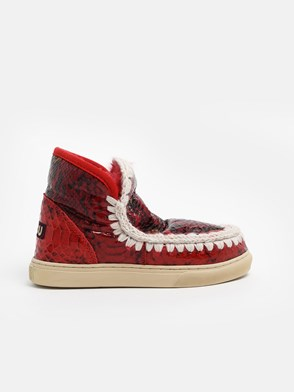 MOU - RED ESKIMO SNEAKERS