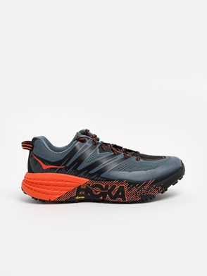 HOKA ONE ONE - MULTICOLOR SPEEDGOAT SNEAKERS
