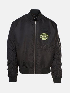 McQ BY ALEXANDER MCQUEEN - BLACK SUBLIME BOMBER JACKET