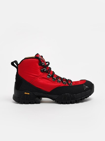 sneakers fashion cheap sale BLACK AND RED ANDREAS ANKLE BOOTS