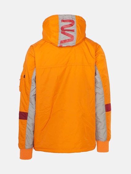new photos 4a592 1e3c8 ORANGE ANORAK