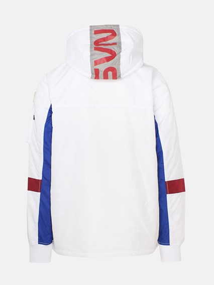 low priced 5abf8 593ac WHITE ANORAK