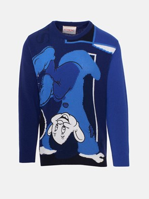 ICEBERG - BLUE �SEVEN DWARVES� SWEATER