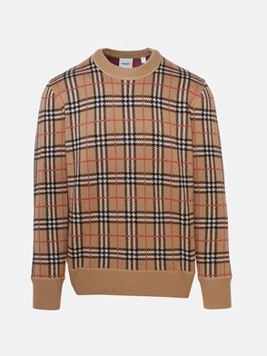 BURBERRY - FLETCHER CHECK SWEATER