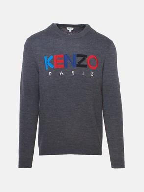 KENZO - GREY SWEATER