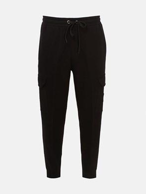BURBERRY - BLACK ANTON PANTS