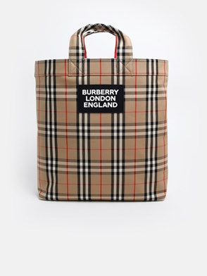 BURBERRY - ARTIE CHECK BAG