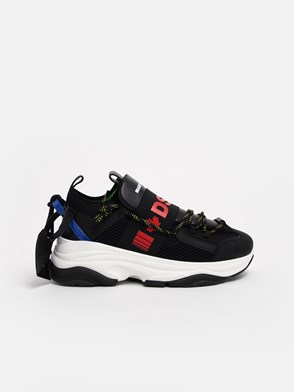 DSQUARED2 - BLACK SNEAKERS
