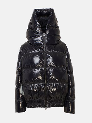 BACON - BLACK SHINY CLOUD DOWN JACKET