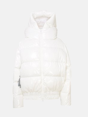 BACON - WHITE SHINY CLOUD DOWN JACKET