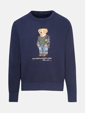 POLO RALPH LAUREN - BLUE TEDDY BEAR SWEATSHIRT