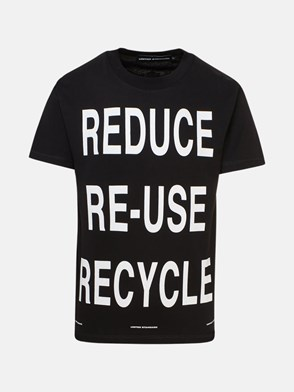 UNITED STANDARD - T-SHIRT VIRGIL RECYCLE NERA