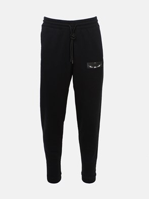 MARCELO BURLON COUNTY OF MILAN - BLACK PANTS