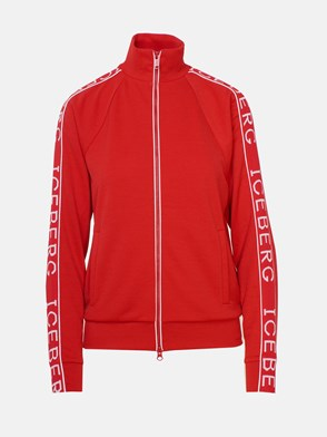 ICEBERG - RED SWEATSHIRT
