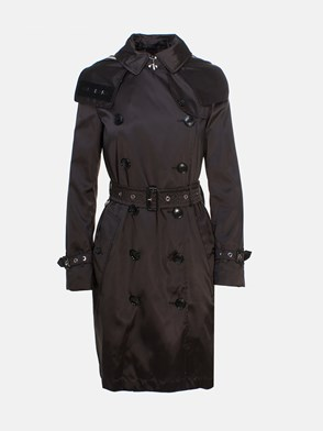 BURBERRY - TRENCH KENSINGTON NERO