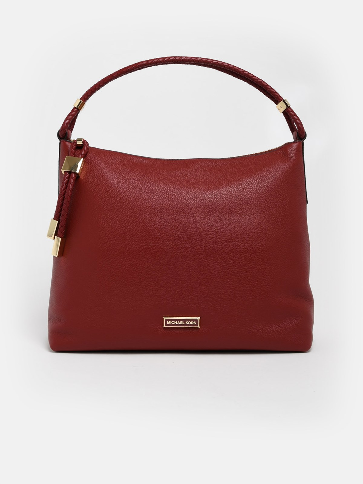 MICHAEL MICHAEL KORS Burgundy Brandy Lexington Bag (size: TU)