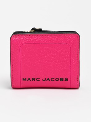 THE MARC JACOBS - PORTAFOGLIO MINI COMPACT FUCSIA