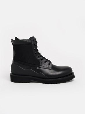 WOOLRICH - BLACK COMBAT BOOTS
