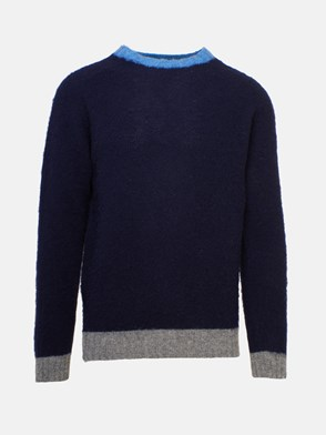 HOWLIN' - BLUE CAPTAIN HARRY SWEATER