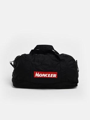 MONCLER - BLACK NIVELLE DUFFLE BAG