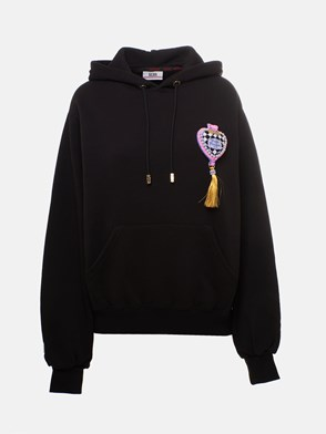 GCDS - BLACK POLLY SWEATSHIRT