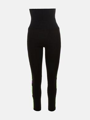 GCDS - BLACK WHITNEY PANTS