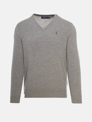 POLO RALPH LAUREN - GREY SWEATER
