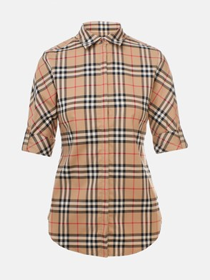 BURBERRY - CAMICIA LUKA CHECK