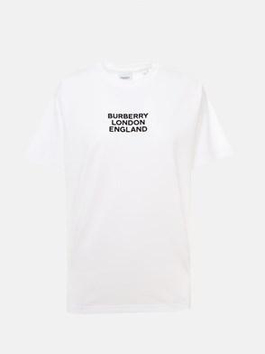 BURBERRY - WHITE CARRICK T-SHIRT